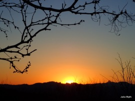 Sunset at Madera canyon